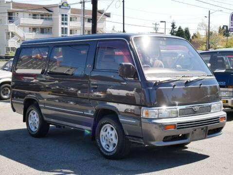 1995 Nissan Caravan 4x4 Diesel for sale at JDM Car & Motorcycle LLC in Seattle WA
