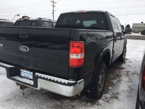 2005 Ford F-150 for sale at BARNES AUTO SALES in Mandan ND