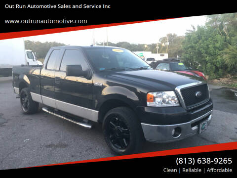 2008 Ford F-150 for sale at Out Run Automotive Sales and Service Inc in Tampa FL