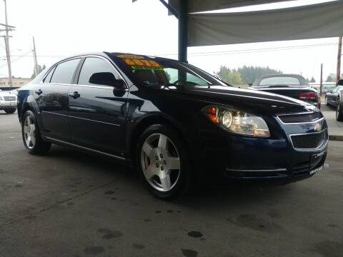 2010 Chevrolet Malibu for sale at Low Auto Sales in Sedro Woolley WA