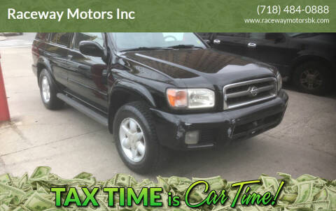 2001 Nissan Pathfinder for sale at Raceway Motors Inc in Brooklyn NY