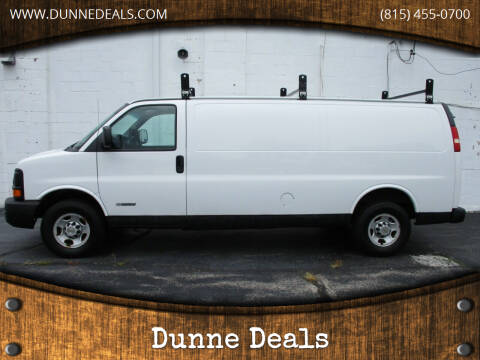 2005 Chevrolet Express Cargo for sale at Dunne Deals in Crystal Lake IL