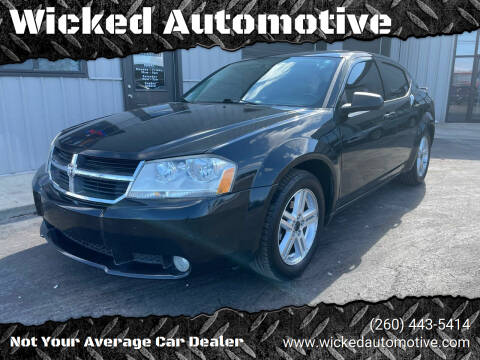 2009 Dodge Avenger for sale at Wicked Automotive in Fort Wayne IN