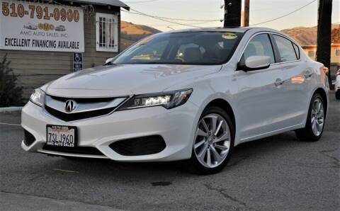 2016 Acura ILX for sale at AMC Auto Sales, Inc. in Fremont CA