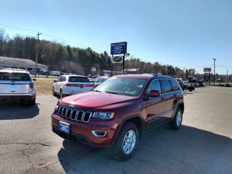 2018 Jeep Grand Cherokee for sale at Ripley & Fletcher Pre-Owned Sales & Service in Farmington ME