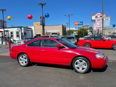 2001 Acura CL for sale at MILLENNIUM CARS in San Diego CA
