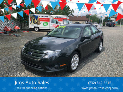 2010 Ford Fusion for sale at Jims Auto Sales in Lakehurst NJ