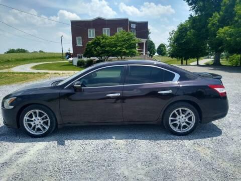 2010 Nissan Maxima for sale at Dealz on Wheelz in Ewing KY