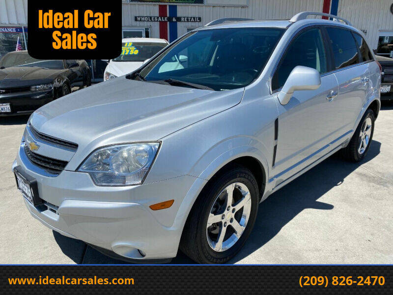 2014 Chevrolet Captiva Sport for sale at Ideal Car Sales in Los Banos CA