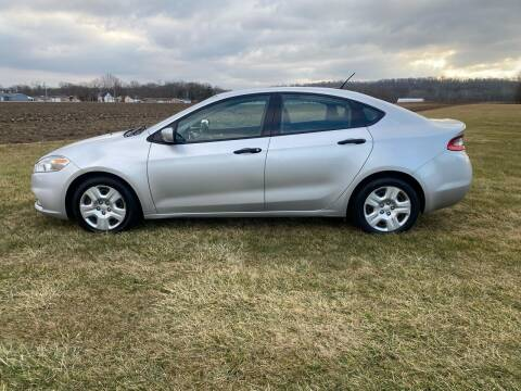2013 Dodge Dart for sale at Wendell Greene Motors Inc in Hamilton OH