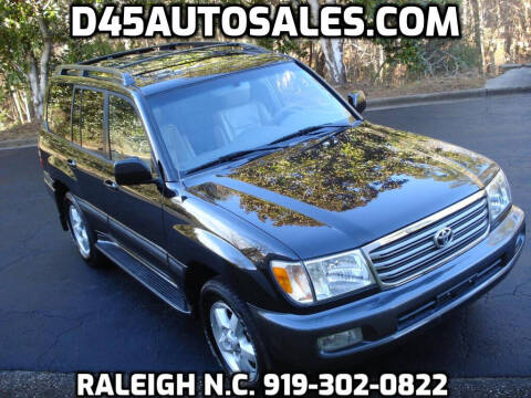 2005 Toyota Land Cruiser for sale at D45 Auto Brokers in Raleigh NC