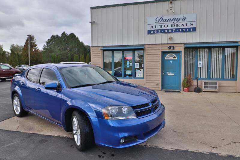 2013 Dodge Avenger for sale at Danny's Auto Deals in Grafton WI