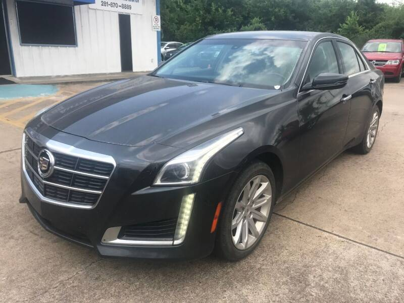 2014 Cadillac CTS for sale at Discount Auto Company in Houston TX