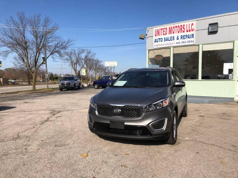 2017 Kia Sorento for sale at United Motors LLC in Saint Francis WI
