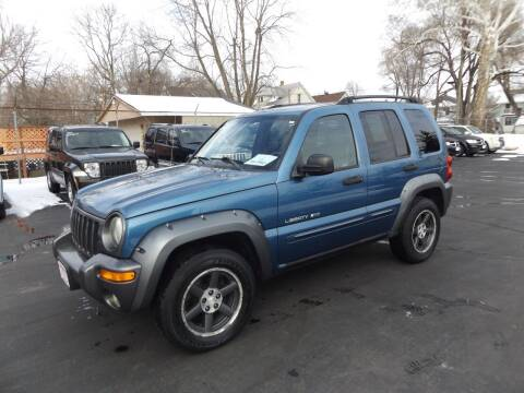 2003 Jeep Liberty for sale at Goodman Auto Sales in Lima OH