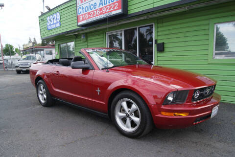 2008 Ford Mustang for sale at Amazing Choice Autos in Sacramento CA
