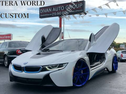2016 BMW i8 for sale at Divan Auto Group in Feasterville PA