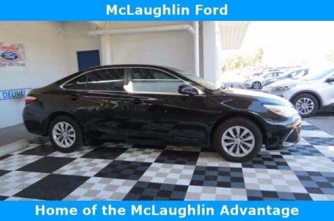 2015 Toyota Camry for sale at McLaughlin Ford in Sumter SC