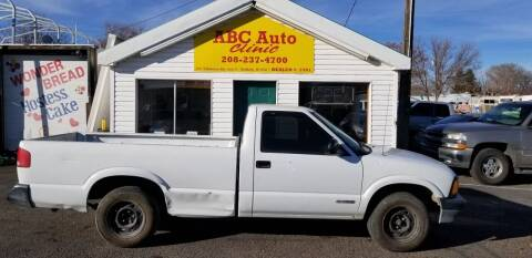 1997 Chevrolet S-10 for sale at ABC AUTO CLINIC - Chubbuck in Chubbuck ID