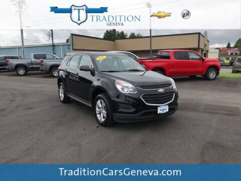 2016 Chevrolet Equinox for sale at Tradition Chevrolet Buick in Geneva NY