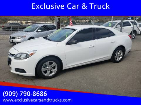 2016 Chevrolet Malibu Limited for sale at Exclusive Car & Truck in Yucaipa CA