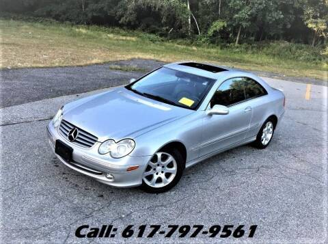 2004 Mercedes-Benz CLK for sale at Wheeler Dealer Inc. in Acton MA