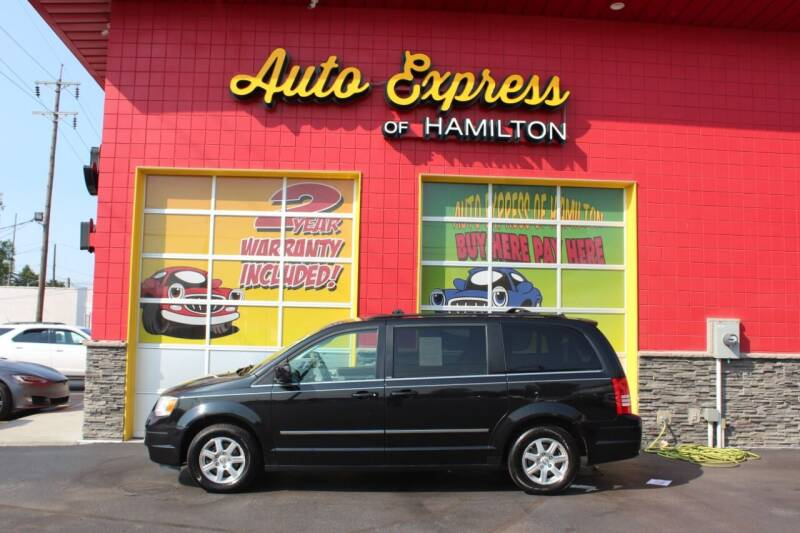 2010 Chrysler Town and Country for sale at AUTO EXPRESS OF HAMILTON LLC in Hamilton OH