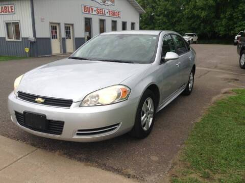 2010 Chevrolet Impala for sale at Steves Auto Sales in Cambridge MN
