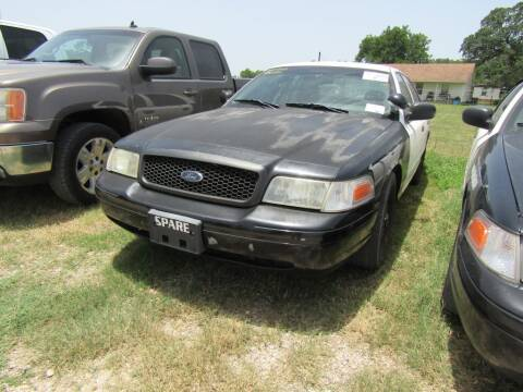 2006 Ford Crown Victoria for sale at Hill Top Sales in Brenham TX