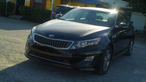 2015 Kia Optima Hybrid for sale at Global Vehicles,Inc in Irving TX