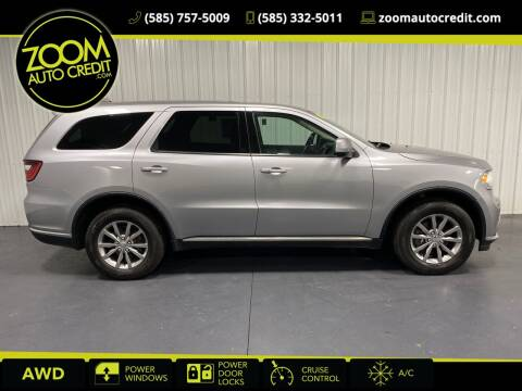2018 Dodge Durango for sale at ZoomAutoCredit.com in Elba NY