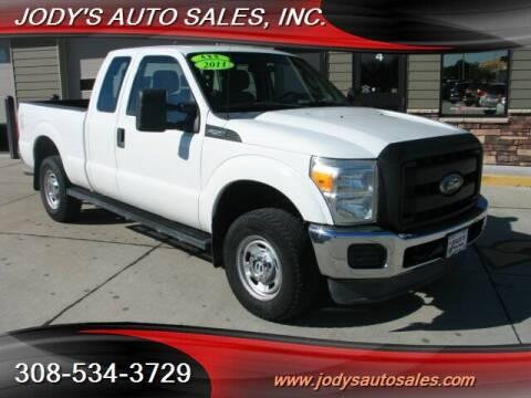 2011 Ford F-250 Super Duty for sale at Jody's Auto Sales in North Platte NE