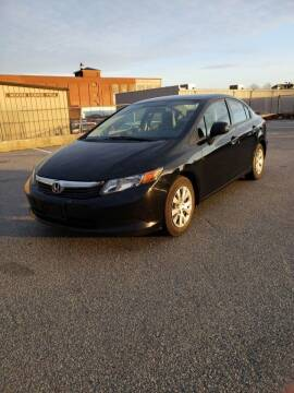 2012 Honda Civic for sale at iDrive in New Bedford MA