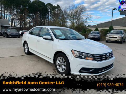 2017 Volkswagen Passat for sale at Smithfield Auto Center LLC in Smithfield NC