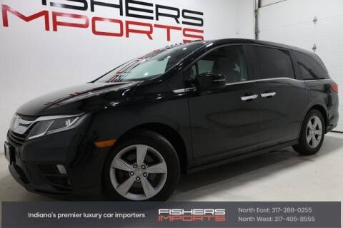2018 Honda Odyssey for sale at Fishers Imports in Fishers IN
