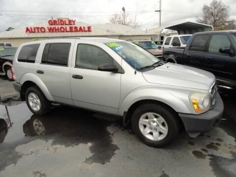 2005 Dodge Durango for sale at Gridley Auto Wholesale in Gridley CA