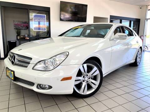 2009 Mercedes-Benz CLS for sale at SAINT CHARLES MOTORCARS in Saint Charles IL