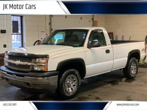 2005 Chevrolet Silverado 1500 for sale at JK Motor Cars in Pittsburgh PA