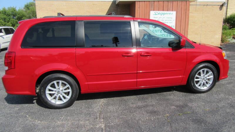 2013 Dodge Grand Caravan for sale at LENTZ USED VEHICLES INC in Waldo WI
