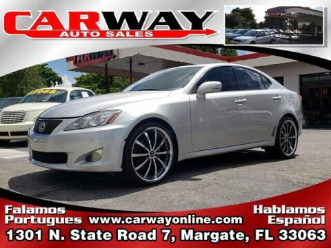 2009 Lexus IS 250 for sale at CARWAY Auto Sales in Margate FL