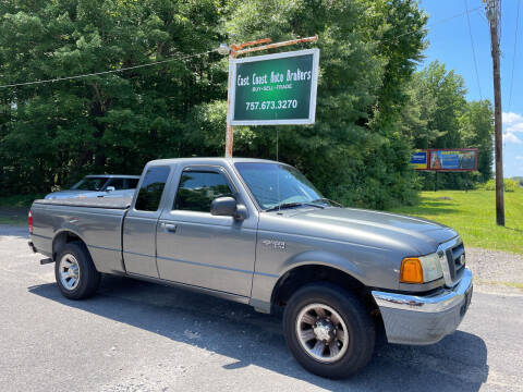 2004 Ford Ranger for sale at East Coast Auto Brokers in Chesapeake VA