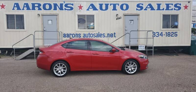 2013 Dodge Dart for sale at Aaron's Auto Sales in Corpus Christi TX