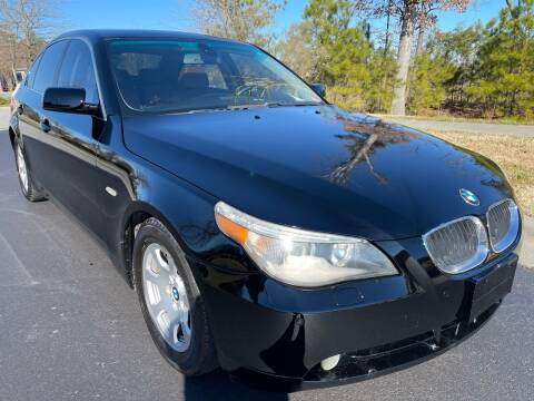 2004 BMW 5 Series for sale at LA 12 Motors in Durham NC
