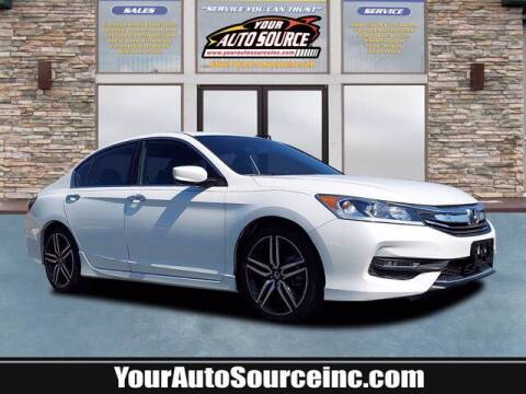 2017 Honda Accord for sale at Your Auto Source in York PA