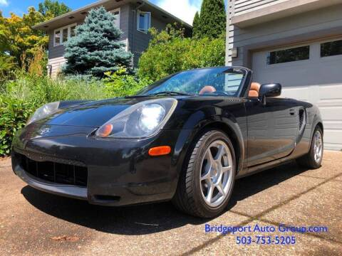2001 Toyota MR2 Spyder for sale at Bridgeport Auto Group in Portland OR