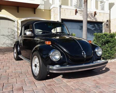 1979 Volkswagen Beetle Convertible for sale at Sunshine Classics, LLC in Boca Raton FL