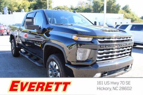 2021 Chevrolet Silverado 2500HD for sale at Everett Chevrolet Buick GMC in Hickory NC