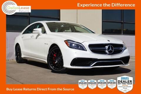 2017 Mercedes-Benz CLS for sale at Dallas Auto Finance in Dallas TX