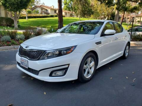 2015 Kia Optima for sale at E MOTORCARS in Fullerton CA