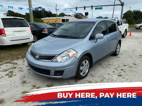 2011 Nissan Versa for sale at SKYLINE AUTO SALES LLC in Winter Haven FL